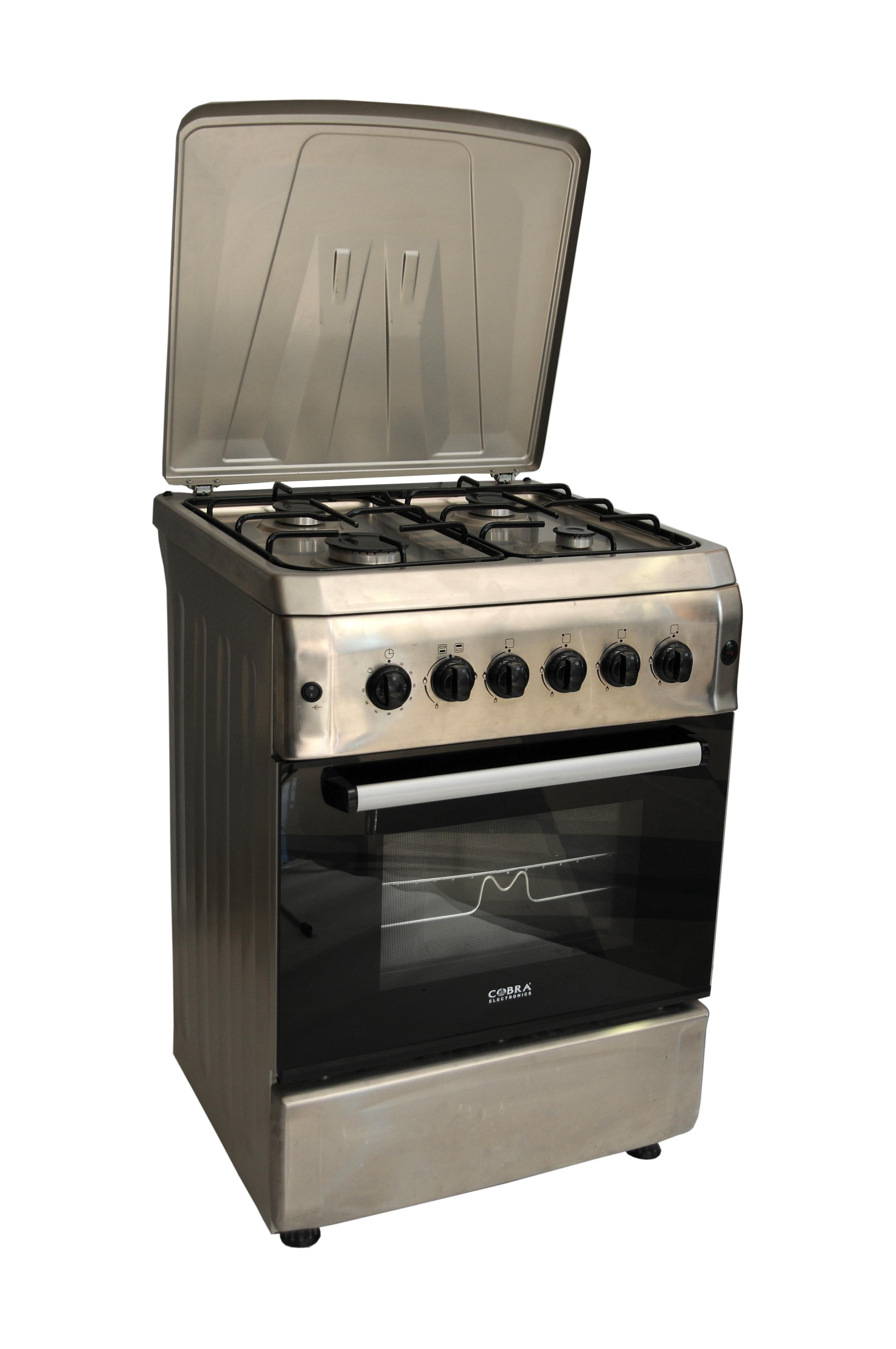 Cuisiniere feux - Cuisiniere gaz 5 feux four gaz ...