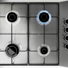 table de cuisson 4feux inox